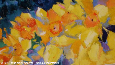 Veronique LANCIEN - JONQUILLES N°2