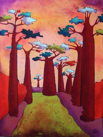 Marie-Pierre JAN - Baobabs 7