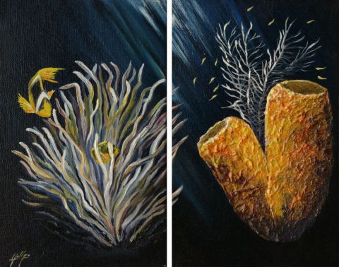 Chantal Gobbi - Diptyque marin