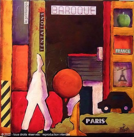 L'artiste Marie-Pierre JAN - Shopping in Paris