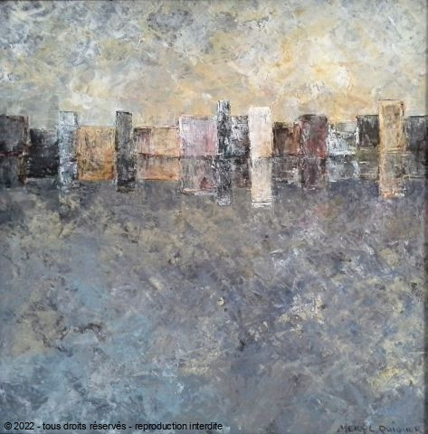 L'artiste Meryl QUIGUER - city reflections