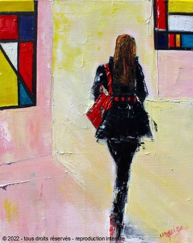 Chantal  Urquiza - MONDRIAN GIRL