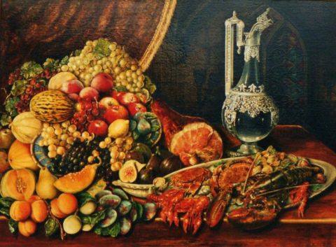 Jacques MONCHO - Fruits et crustac�s