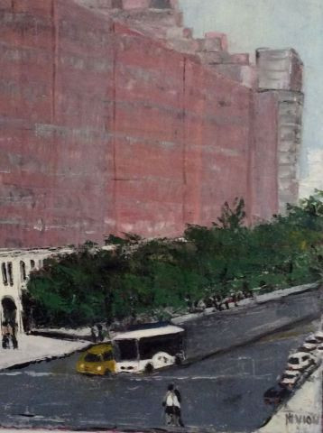 MARIE-THERESE VION - Sur la HIgh Line a New York