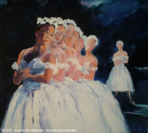 L'artiste Veronique LANCIEN - LES DANSEUSES 2EME PHOTO