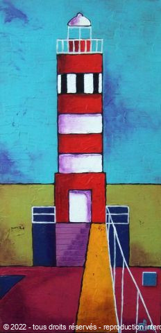 L'artiste Marie-Pierre JAN - Phare 16 a