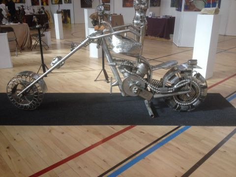albert deville - moto chopper
