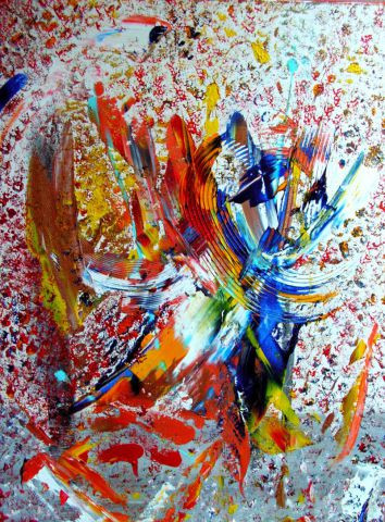 L'artiste Elle Bory  - WAR'S COLORS