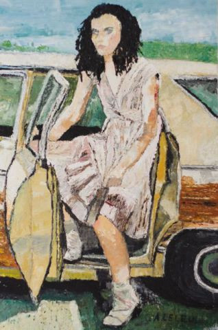 Femme En Colere Peinture Agnes