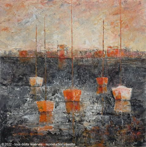 Meryl QUIGUER - City moorings 2