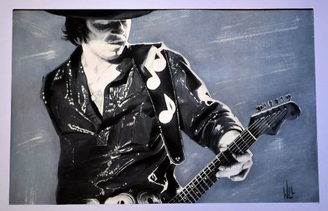 wilfried forgues  - Stevie Ray vaughan