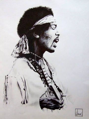 wilfried forgues  - Jimi Hendrix 2