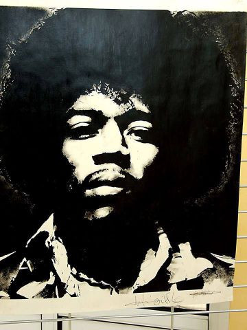 wilfried forgues  - Jimi Hendrix