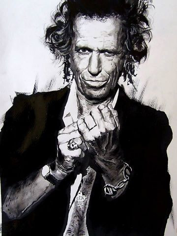 wilfried forgues  - Keith Richards