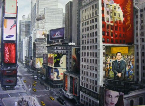 Bruno Villette - Times Square