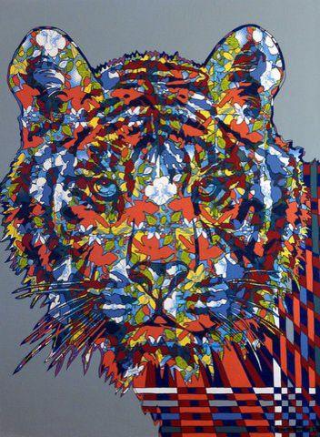 Wild peinture streichenberger for Peinture conceptuelle