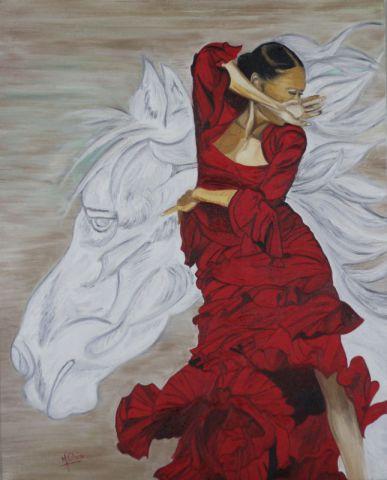 Danseuse Espagnole Peinture Mpc