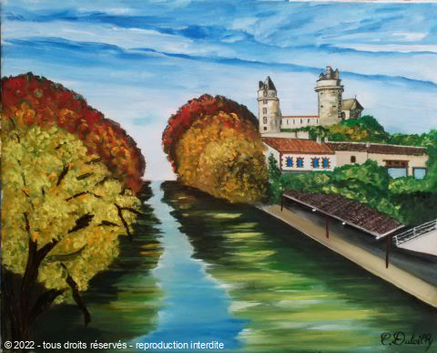 L'artiste Catherine Dutailly - Apremont