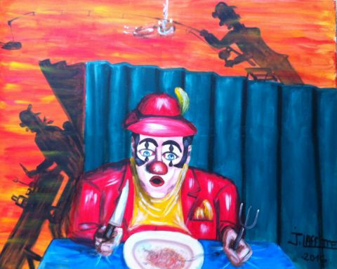 LAFFITTE Jacky - Les clowns