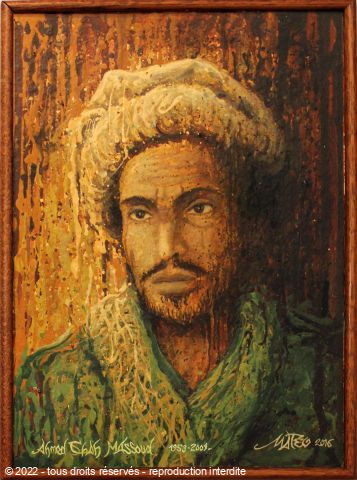 MateoGraph  -  Ahmed Shah Massoud ,  Lion du Pandjir