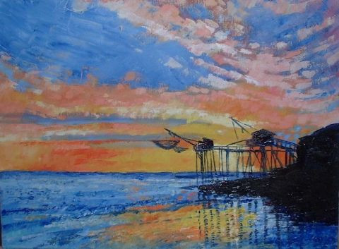 Chris Laure - Couchers de Soleil sur carrelets