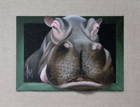 Chantal Rousselet - Hippo