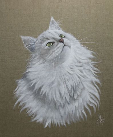Chantal Rousselet - Chat