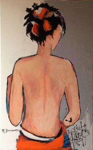 Femme Au Dos Nu Peinture Devinante