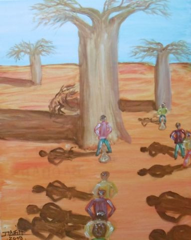 LAFFITTE Jacky - Climat:baobabs