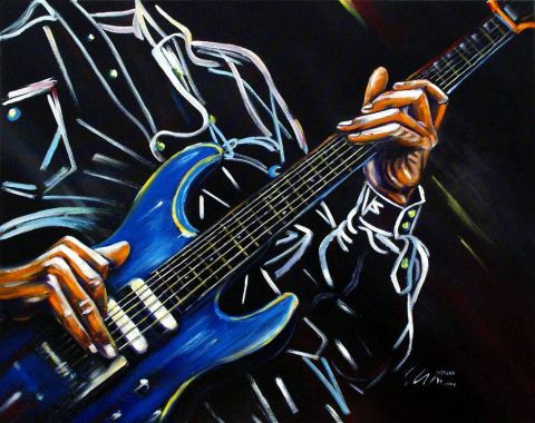 bruno chevalier-costard - Blue guitar