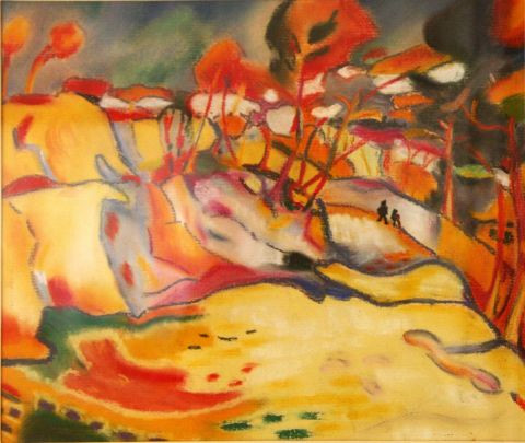 Veronique Rond Frenot - Inspiration Georges Braque
