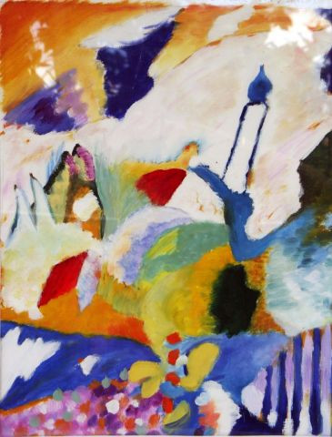 Veronique Rond Frenot - Inspiration Wassily Kandinsky