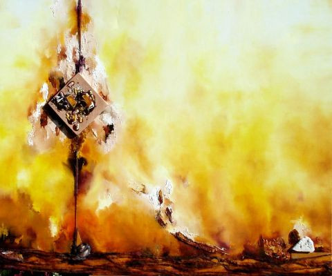 Les ocres du luberon peinture esty for Peinture du liberon