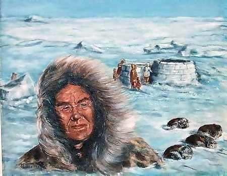 Therese Preville - Campement Inuit