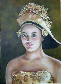 Therese Preville - Jeune Fille Indonesienne