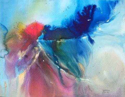 Eclosion peinture agathe bonnet for Agathe bonnet