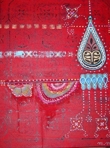 Monika Macken - Indian red