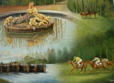 Promenade en yvelines 60 peinture solyn for Promenade yvelines