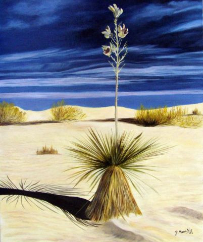 Germaine Mauclere - Yucca du Desert