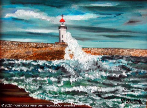Catherine Dutailly - Le phare de la cotiniere