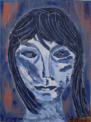 Autoportrait au miroir peinture milan for Autoportrait miroir