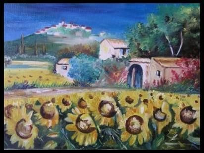 marc machin - champ de tournesols