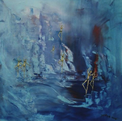 Le Lac De Giacometti Peinture Eylliae