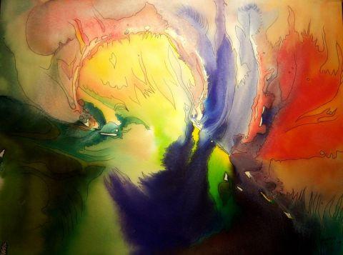 Orion peinture agathe bonnet for Agathe bonnet