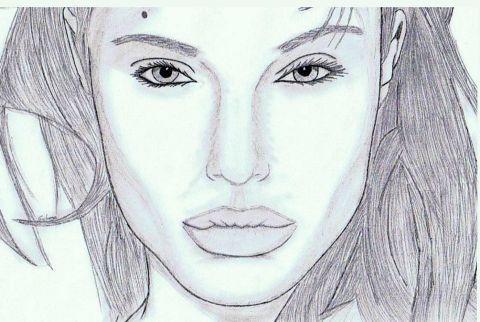 Angelina Jolie Dessin Eve