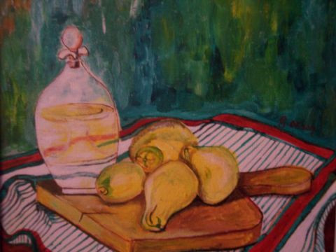 Gabriel Osson - Nature Morte aux citrons