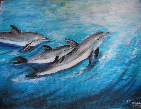 anne-marie landron - dauphins