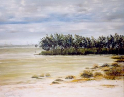Maaike Poog - view over the beach