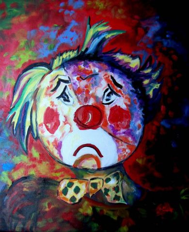 Martine Bach - clown 2