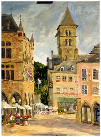 ZEDD68 - Echternach Collection Publique Luxembourg